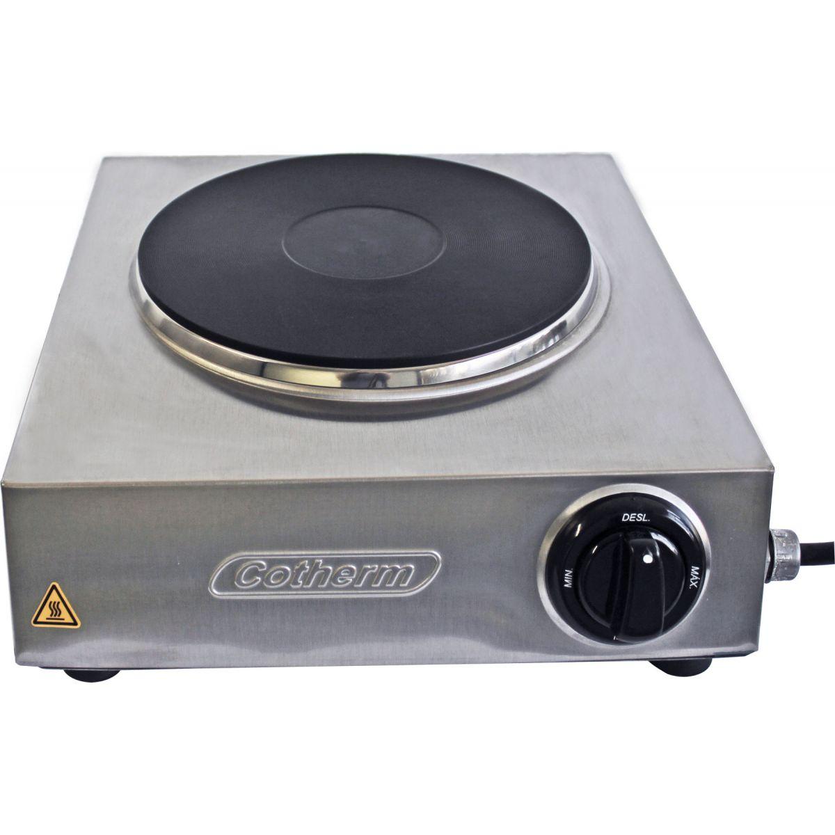 Hot Plate Profissional Topazio 1 Boca 2500W  - Topcom Eletro