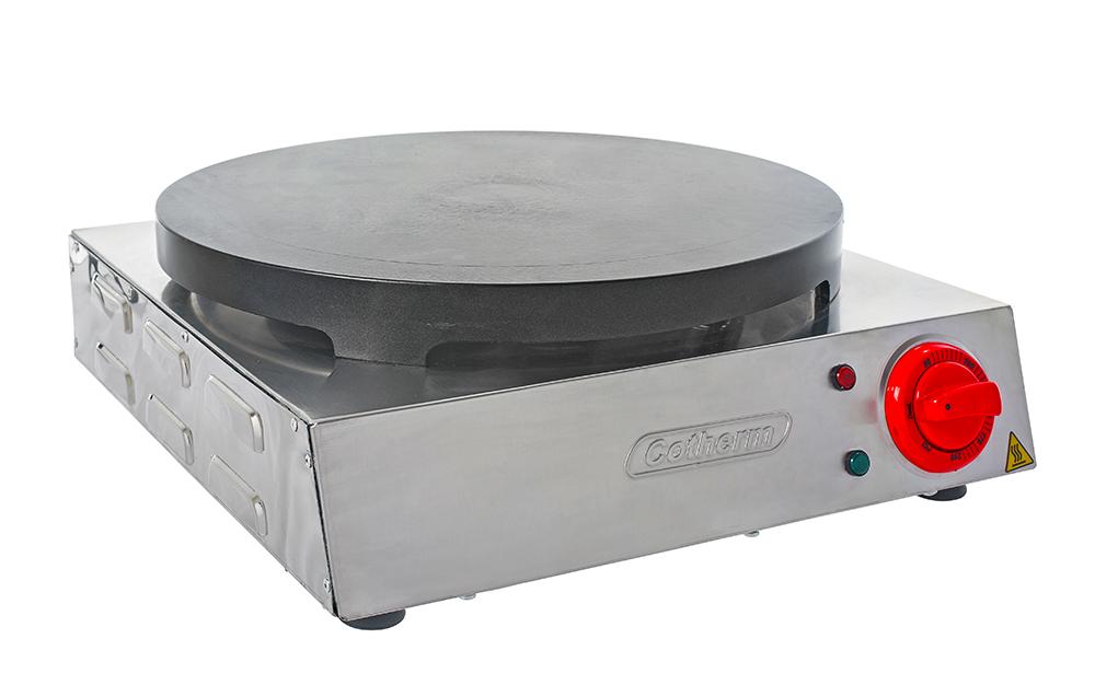 Panquequeira e Crepeira Profissional com Antiaderente Cotherm  - Topcom Eletro