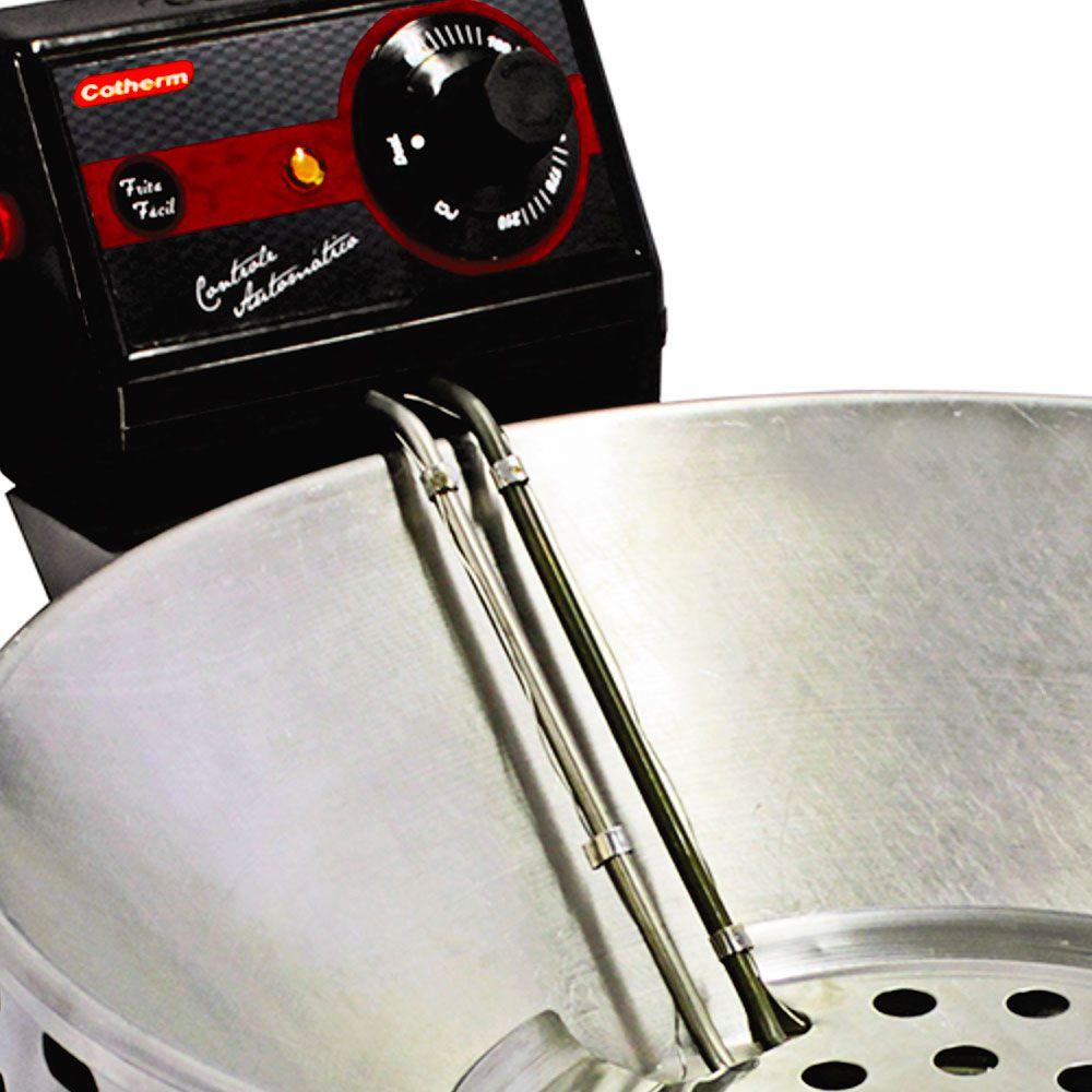 Fritadeira Elétrica Tacho 5 Litros  Linha Frita Fácil  - Topcom Eletro