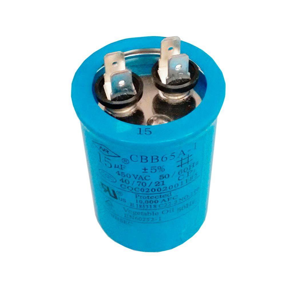 Capacitor 15uF 450VAC CBB65