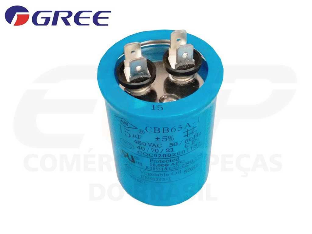Capacitor 15 uF 450 VAC CBB65