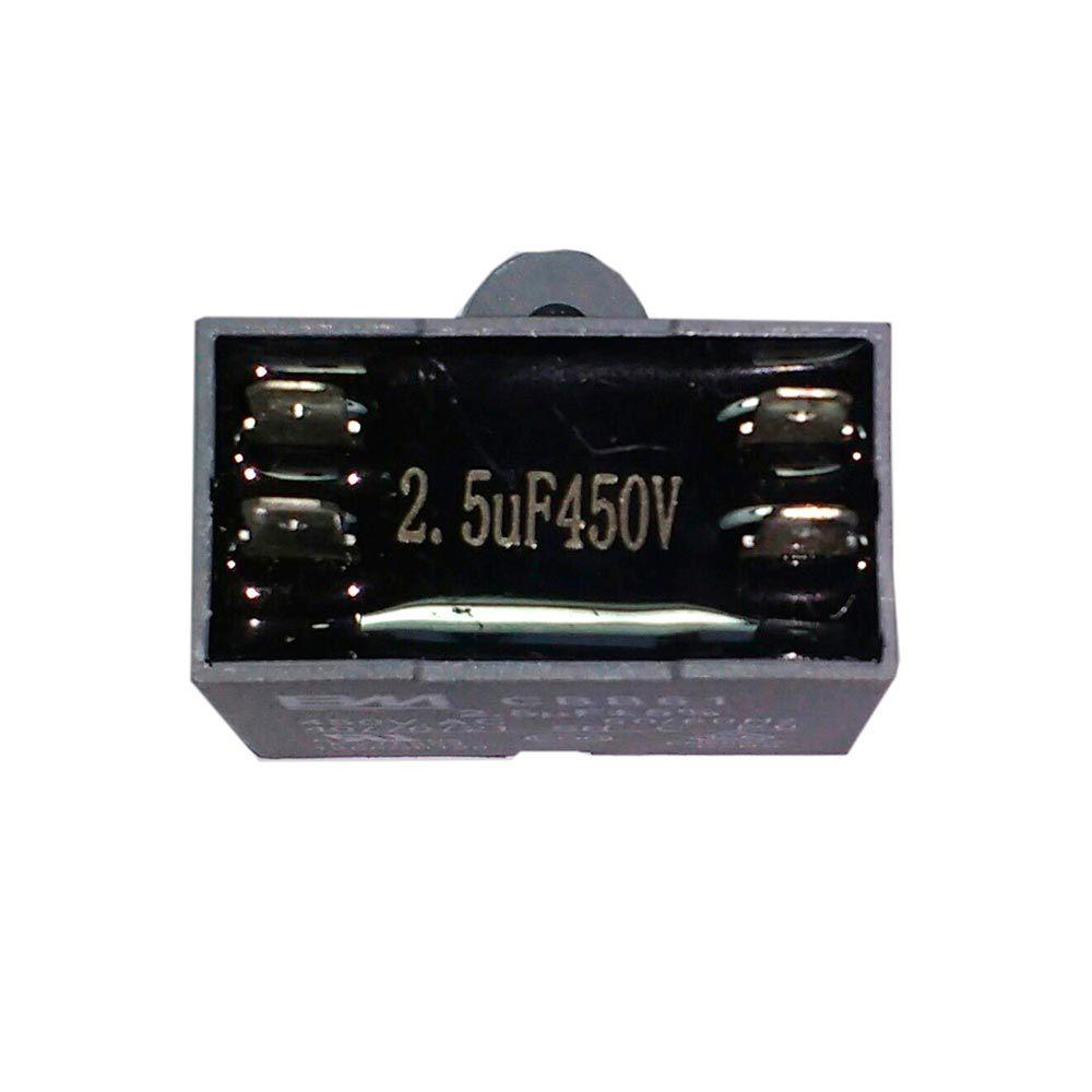 Capacitor 2.5uF 450VAC CBB61