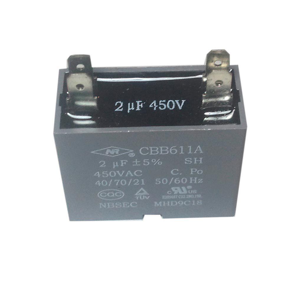 Capacitor 2uF 450VAC CBB61