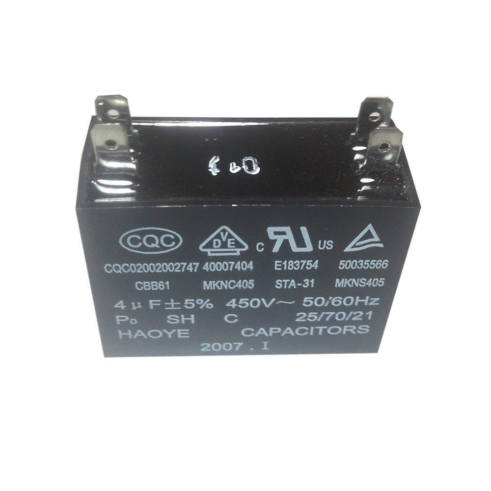 Capacitor 4uF 450VAC CBB61