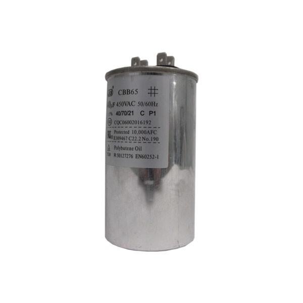Capacitor Compressor CBB65 40uF 450VAC