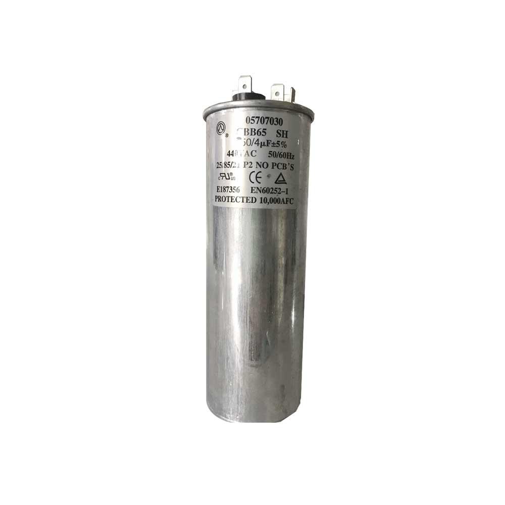 Capacitor Duplo 50+4uF 440VAC P2 Springer Carrier 05707030