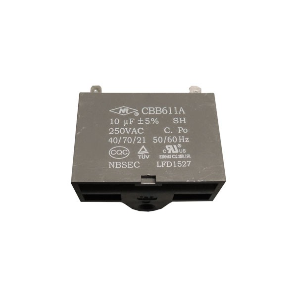 Capacitor Motor Ventilador CBB611A 10uF 450VAC