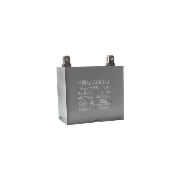 Capacitor Motor Ventilador CBB611A 8uF 450VAC