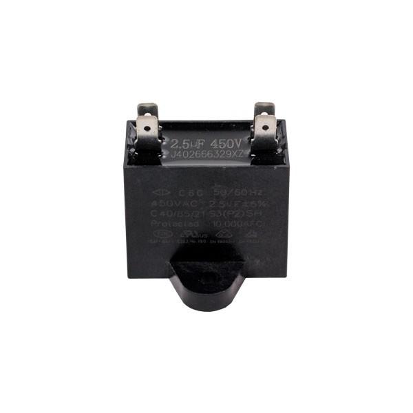 Capacitor Motor Ventilador CBB61 2.5uF 450VAC