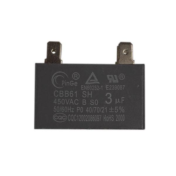 capacitor motor ventilador cbb61 3uf 450v midea springer carrier comfee admiral 202401100353