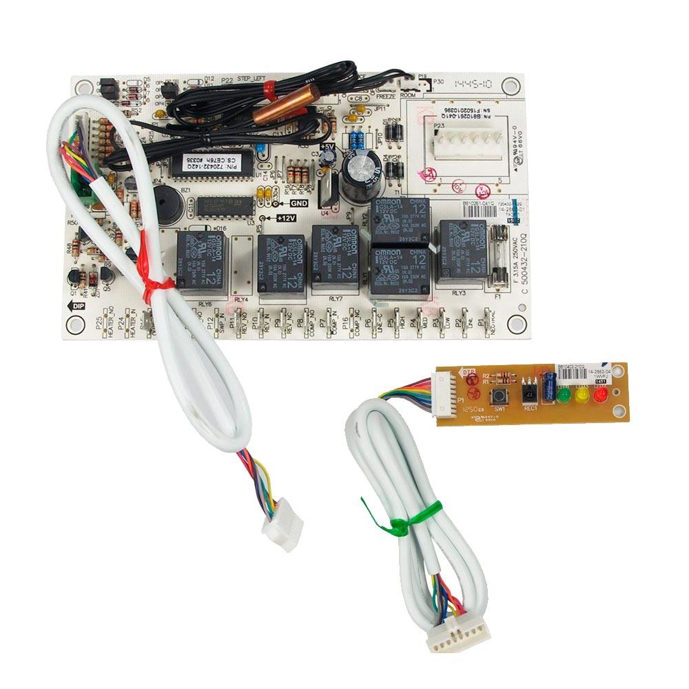 Kit Placas Eletronicas Evaporadora Piso Teto Quente Frio 18K 24K 30K 36K 48K 57K 60K 72K 5830425 Carrier