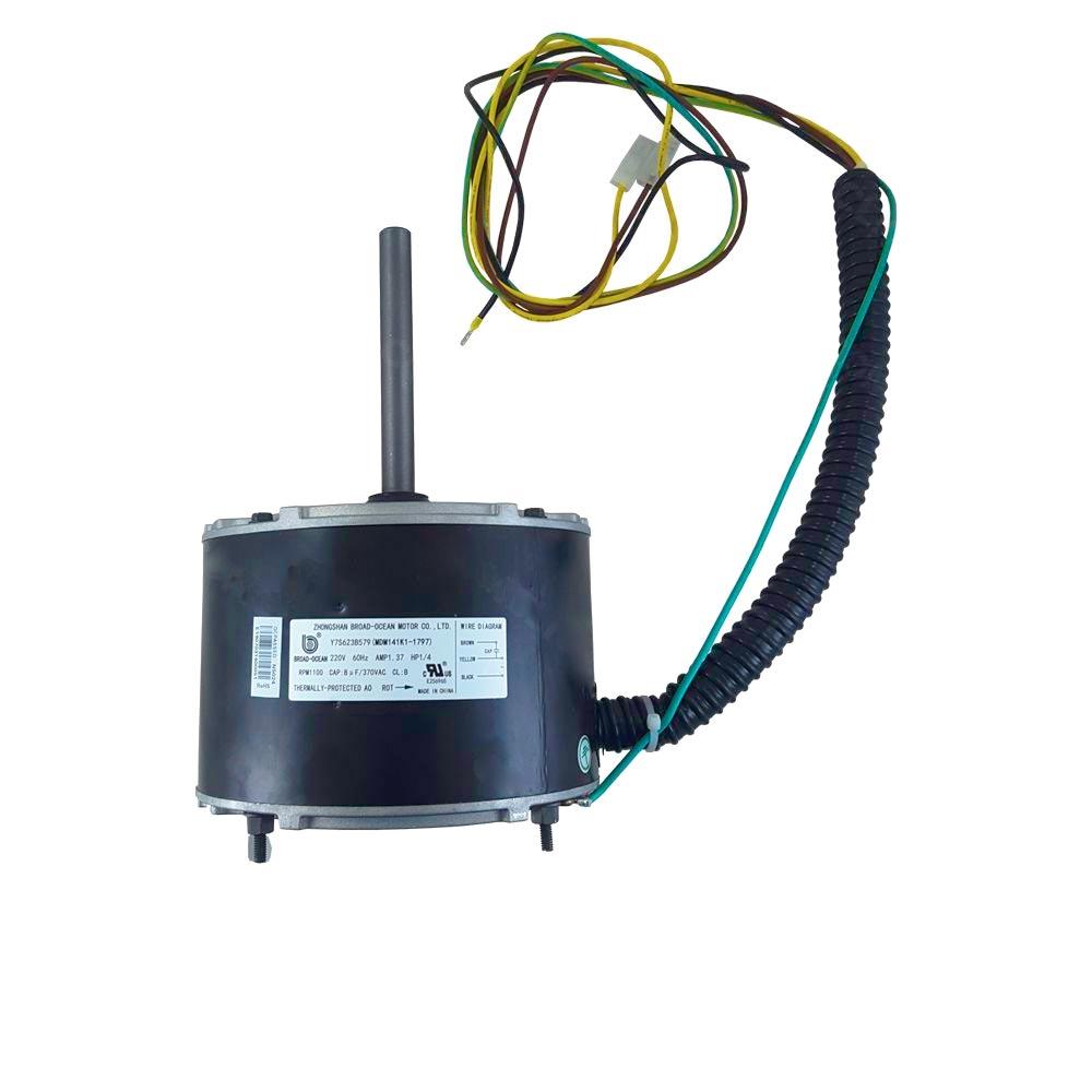 Motor Ventilador Condensadora 1/4CV 220V 36k 48k 60k Midea Springer Carrier 25901797