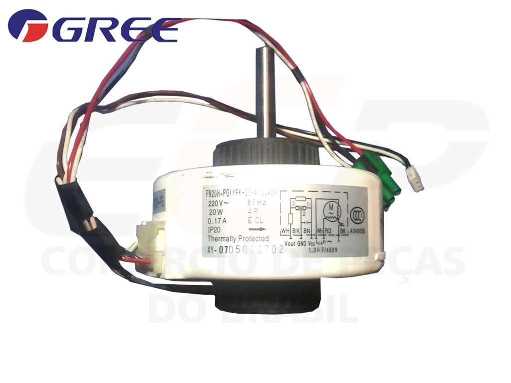Motor Ventilador Evaporadora FN20H-PG GSW R 12 18 A
