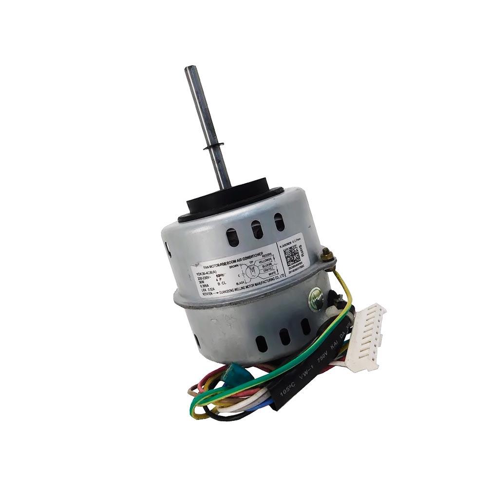 Motor Ventilador Evaporadora Split 18K 22K 28K Btus Midea Springer 2024004A0153