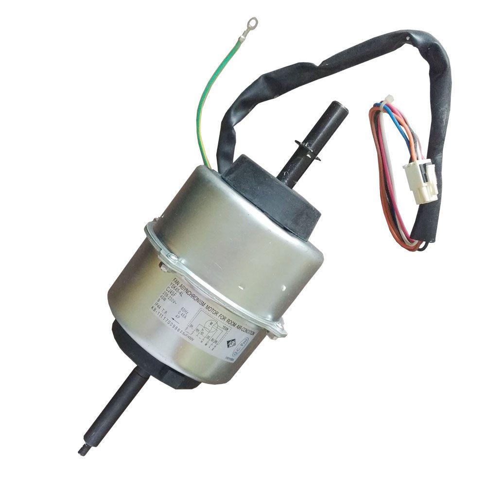 Motor Ventilador Janela CJ45F GJ 7 10  - ECP Peças Originais p/ Ar Condicionado.