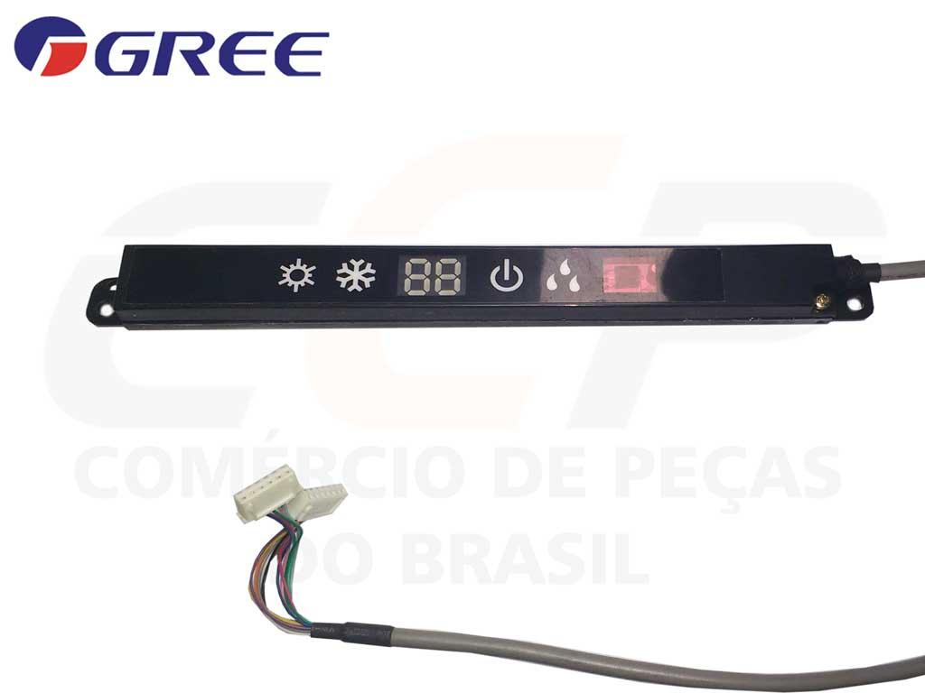 Placa Display Receptora D5183P GWC GWH 18MC