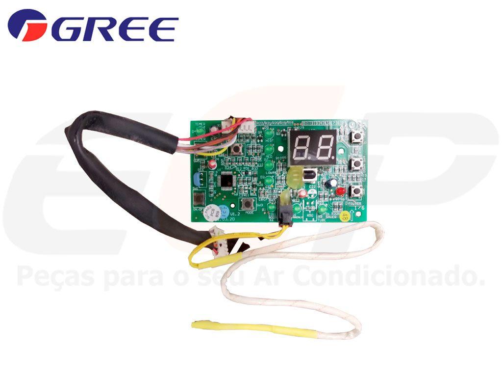 Placa Display Receptora GJ7 L D