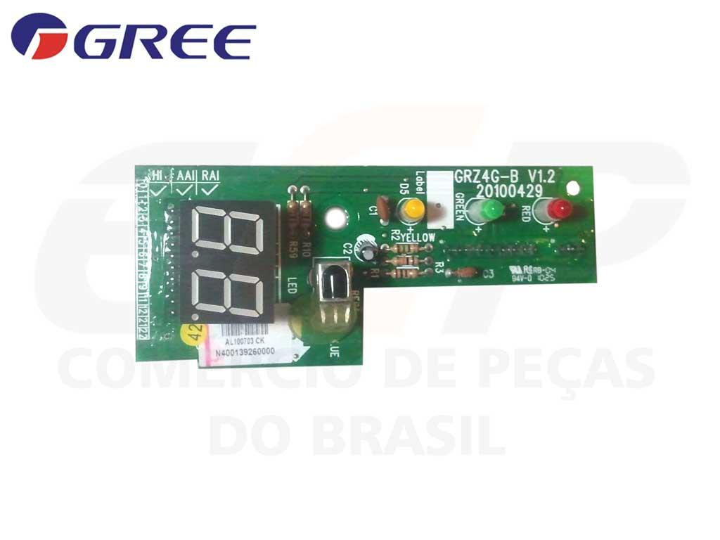 Placa Display Receptora GTH 24 36 48 60 - Z4G25A