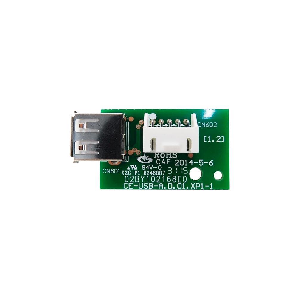 Placa Eletrônica com USB para WIFI Split 9K 12K 18K 22K Btus Midea 2013323A2104