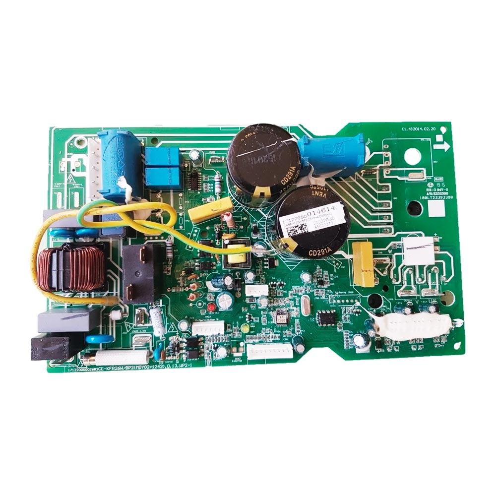 Placa Eletrônica Condensadora 12000 Btus 38FVCA12C5 38VFCA12M5 17122000014614 Midea