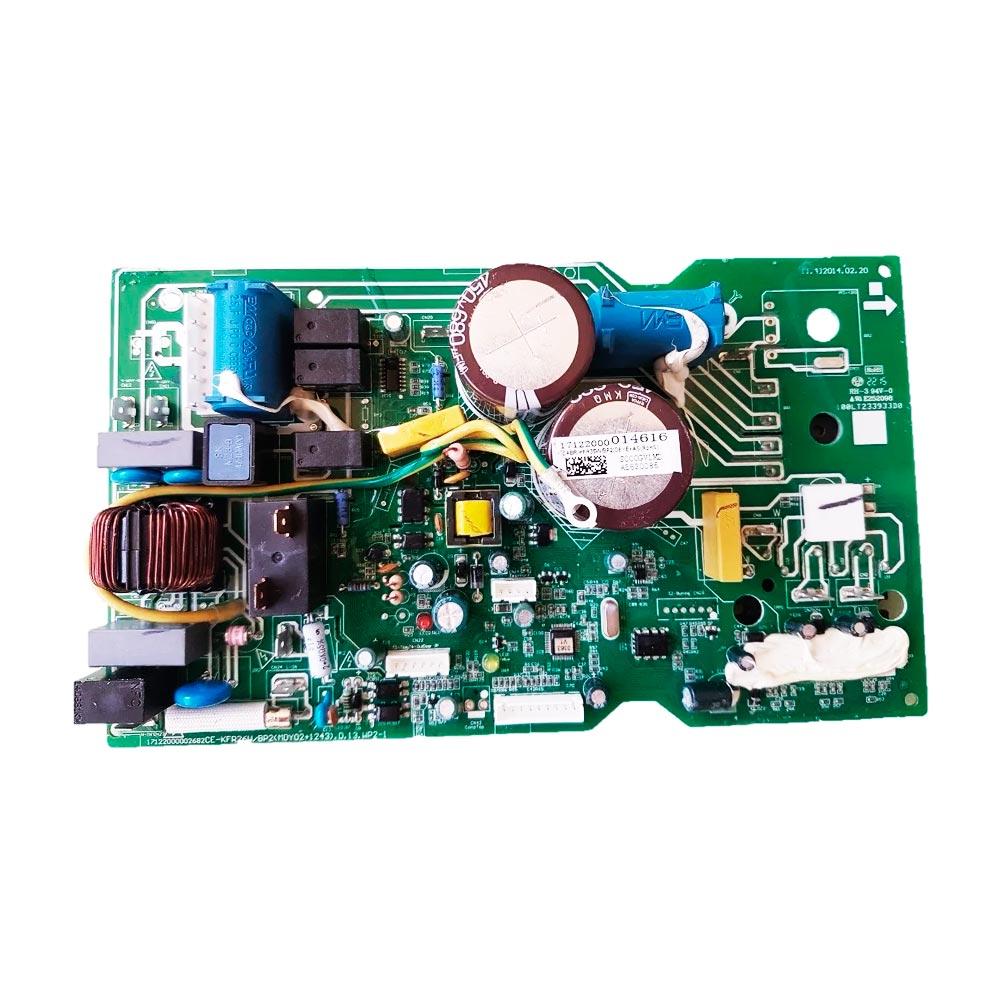 Placa Eletrônica Condensadora 12000 Btus 38FVQA12C5 38VFQA12M5 Midea Carrier 17122000014616