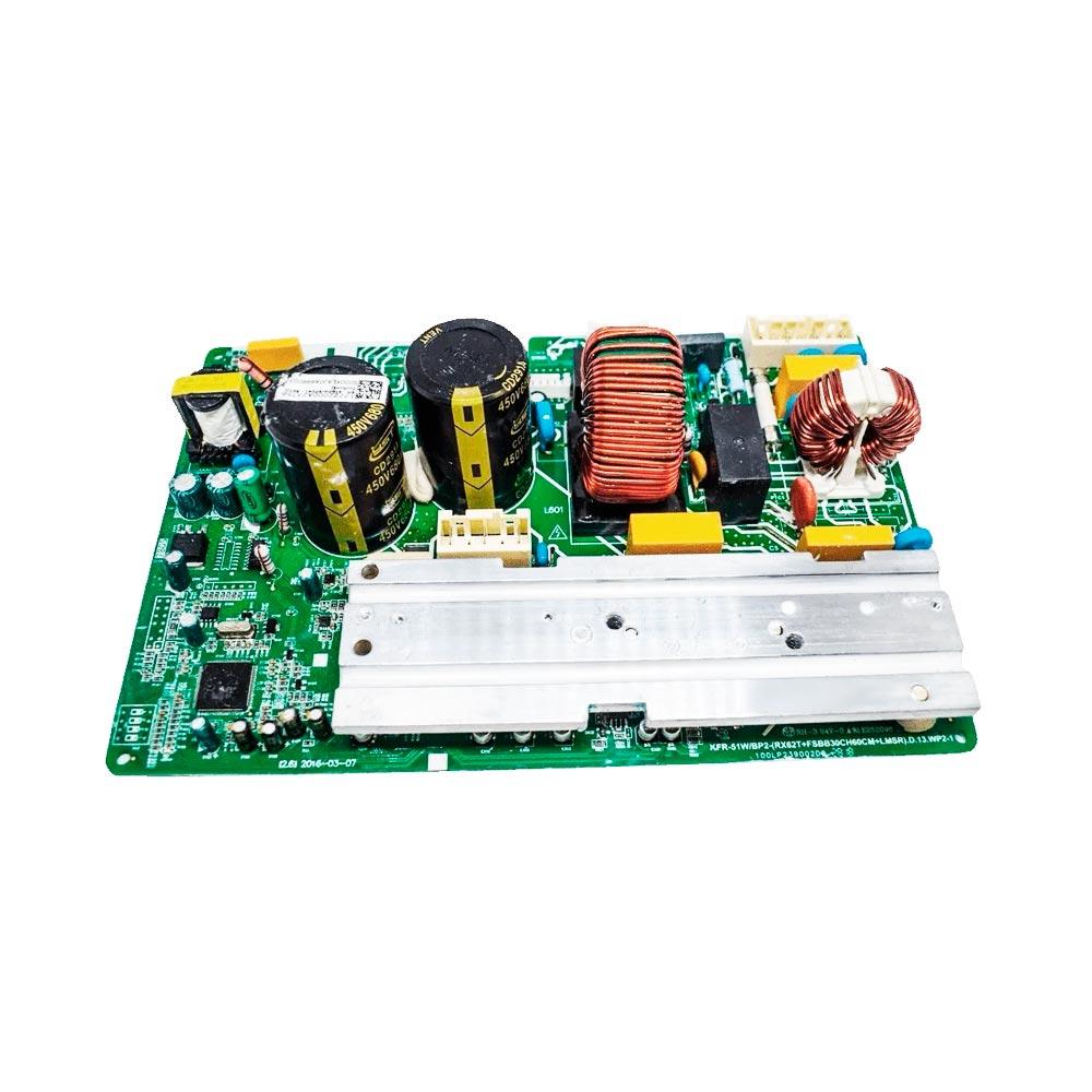 Placa Eletrônica Condensadora 18000 Btus 38MBCA18M5 Midea 17222000A23756