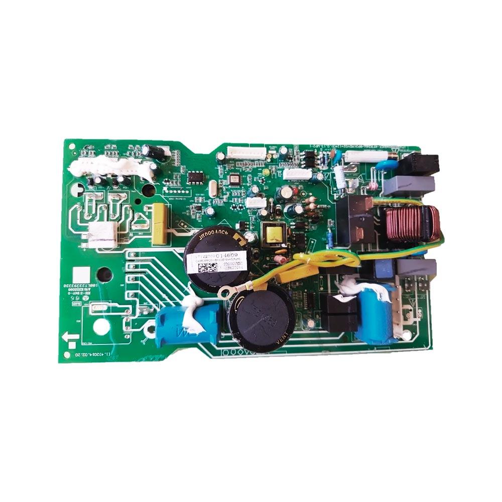 Placa Eletrônica Condensadora 38FVQA09C5 38VFQA09M5 9000 Btus Midea Carrier 17122000014609