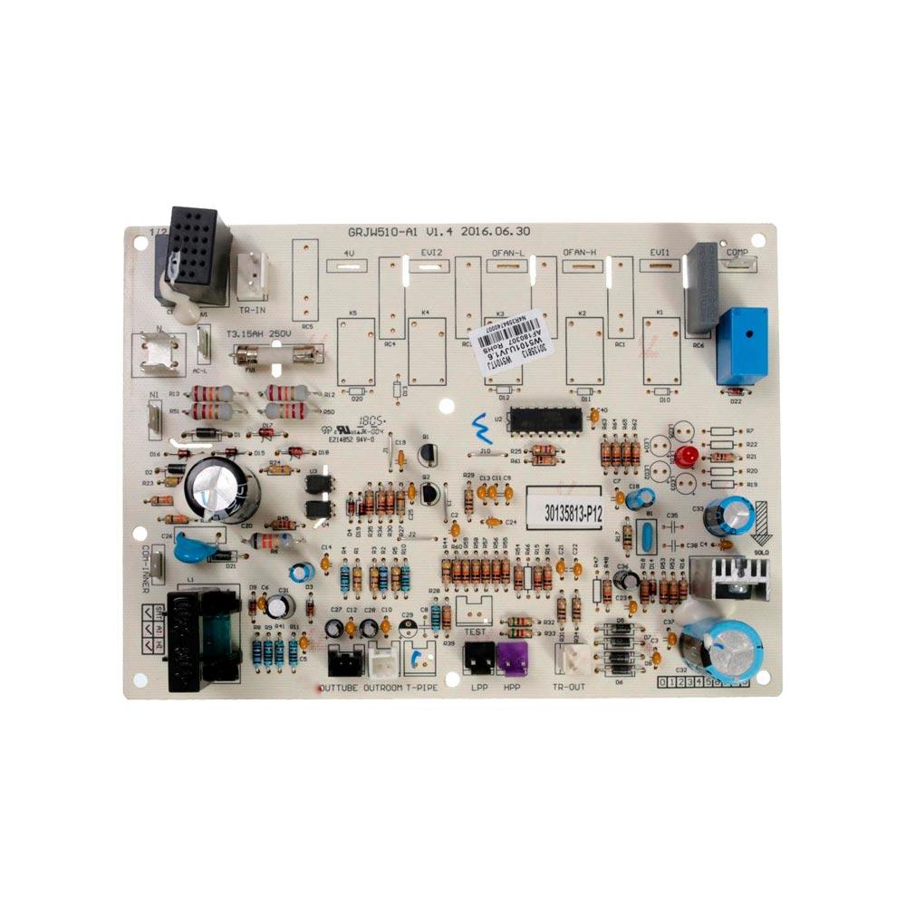 Placa Eletrônica Principal Condensadora W5101TJ 30135813 Gree / Electrolux