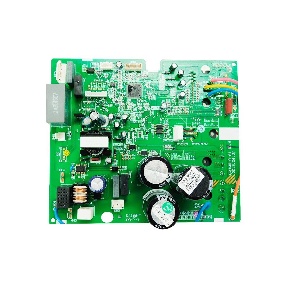 Placa Eletrônica Principal Condensadora W819A115 GWH12KF-D3DNA5A/O 30138104 Gree