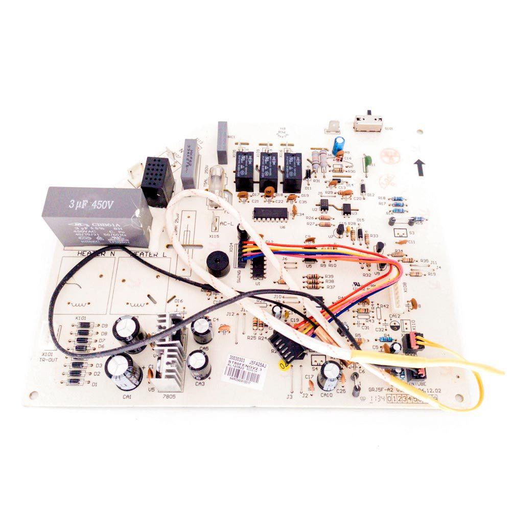 Placa Eletrônica Principal Evaporadora J5FA25AJ GSW24-22R/C(I) 30030303 Gree
