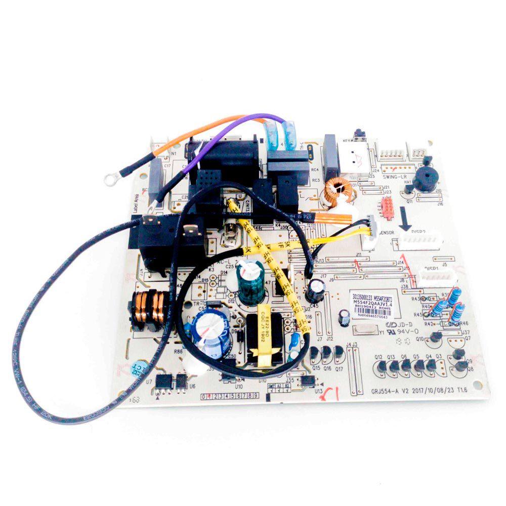 Placa Eletrônica Principal Evaporadora M554F1QBTJ GWH12QC-D3NNB4A/I 30135000133 Gree