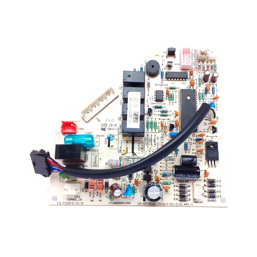 Placa Eletrônica Principal Evaporadora Split 22000 btus 42LUQC22C5 2013329A0202 Carrier