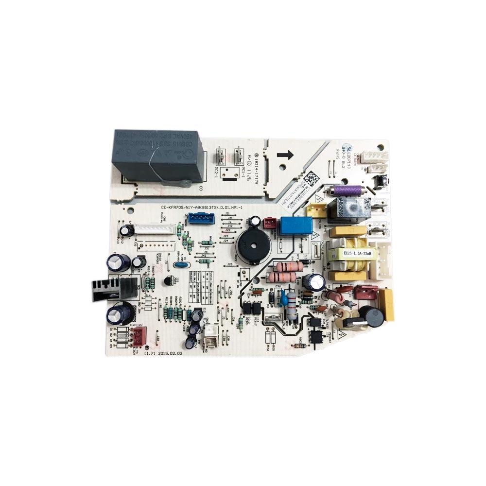 Placa Eletrônica Principal Evaporadora Split 22K 24K Btus 42MBCA22M5 42MBCA24M5 Midea 17122000A15552