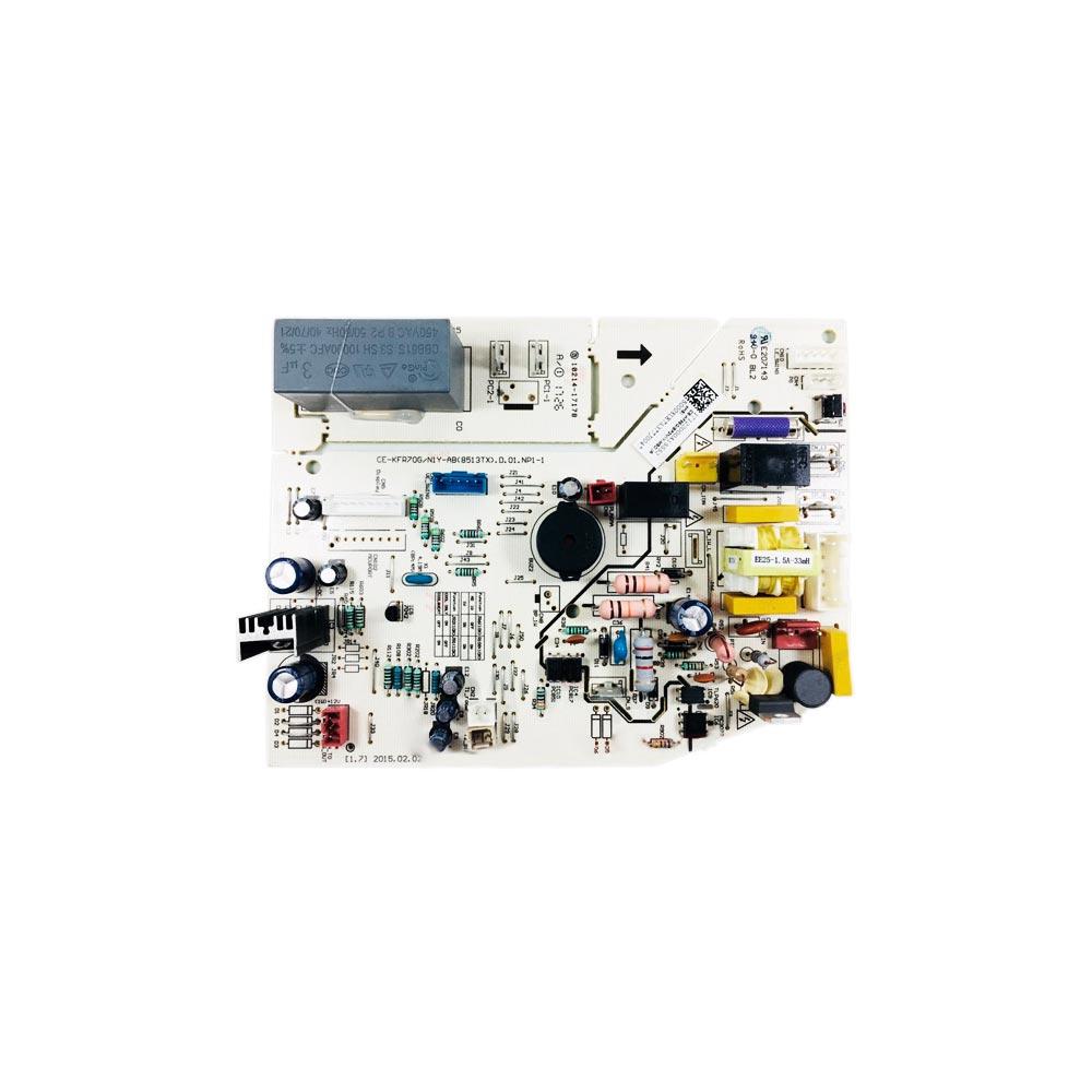 Placa Eletrônica Principal Evaporadora Split 22k 24k Btus 42MBQA22M5 42MBQA24M5 Midea 17122000A15548