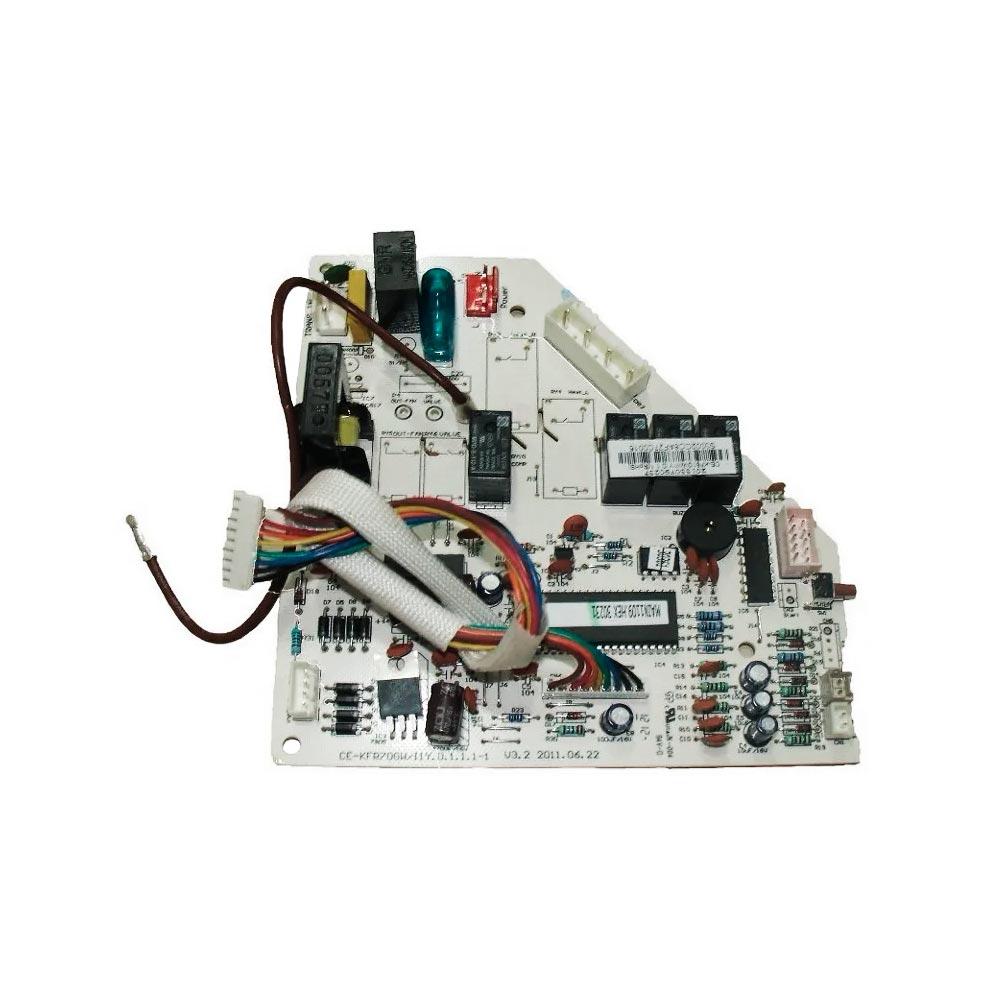 Placa Eletrônica Principal Evaporadora Split 22k Btus Só Frio 42MCC022515LS Springer 201330790237