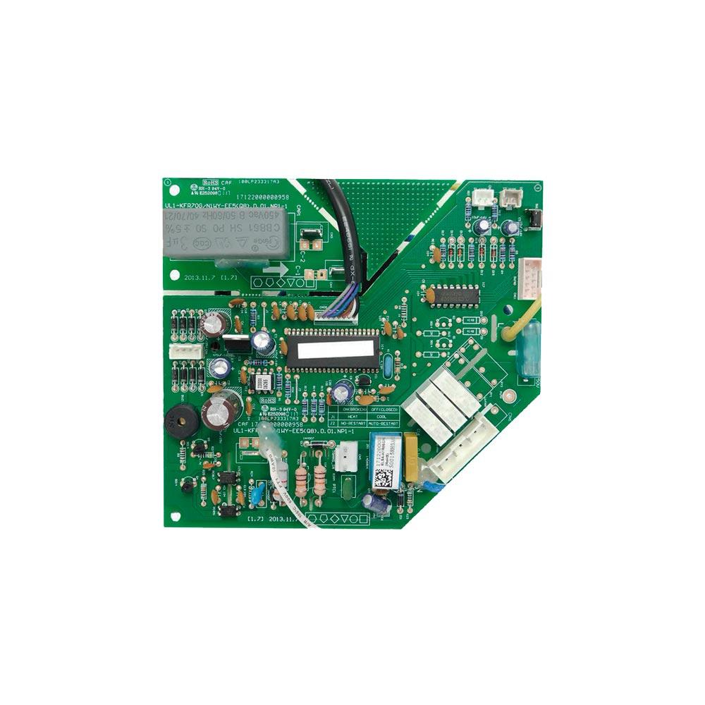 Placa Eletrônica Principal Evaporadora Split 30000 Btus Quente e Frio 201333190015 Midea Carrier