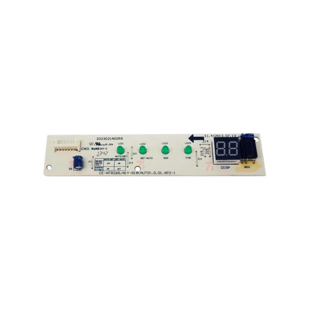 Placa Receptora Display 9000 12000 18000 Btus 201332390769 Admiral