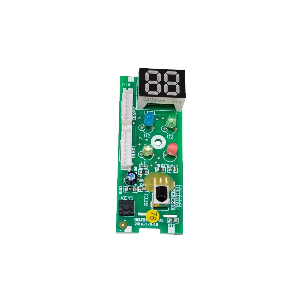 Placa Receptora Display D8193 GWC GWH 09KF - A5A 30568010 Gree