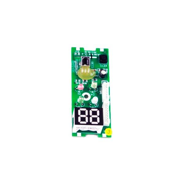 Placa Receptora Display D8193A GWC GWH 18KG - A5A 30568112 Gree