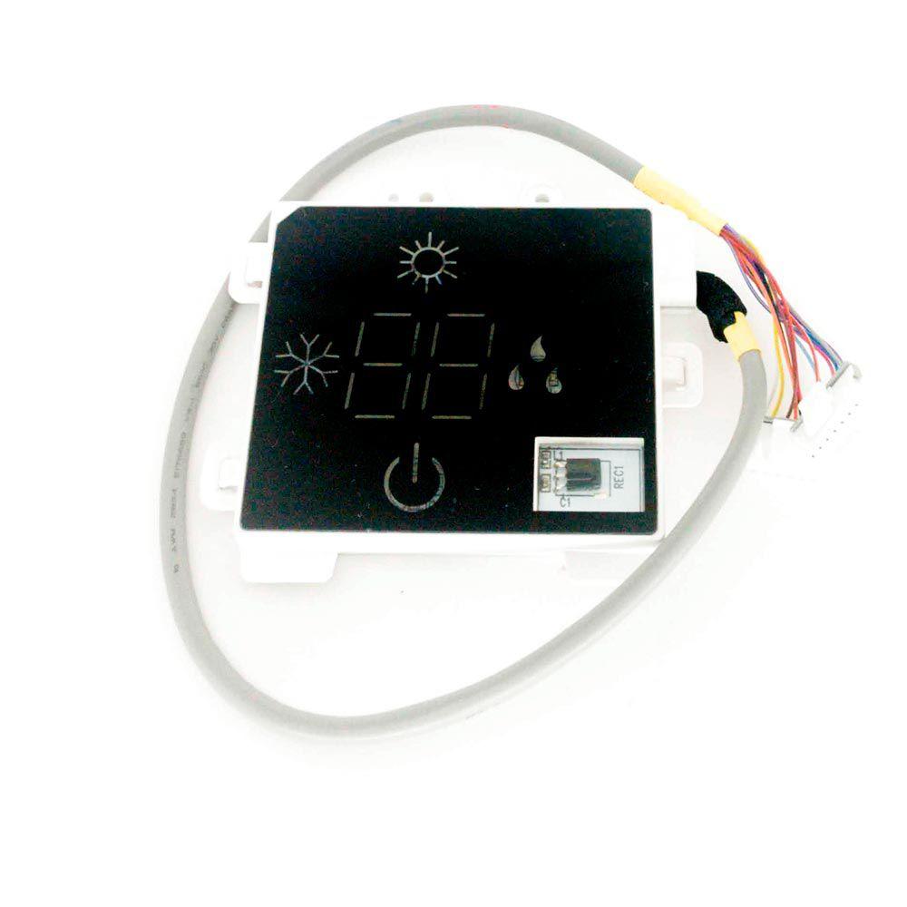 Placa Receptora Display GWC GWH 09 12 18 24 28 QA QB QC QD - B8M B4A B4B B4C B4D 30565260 Gree