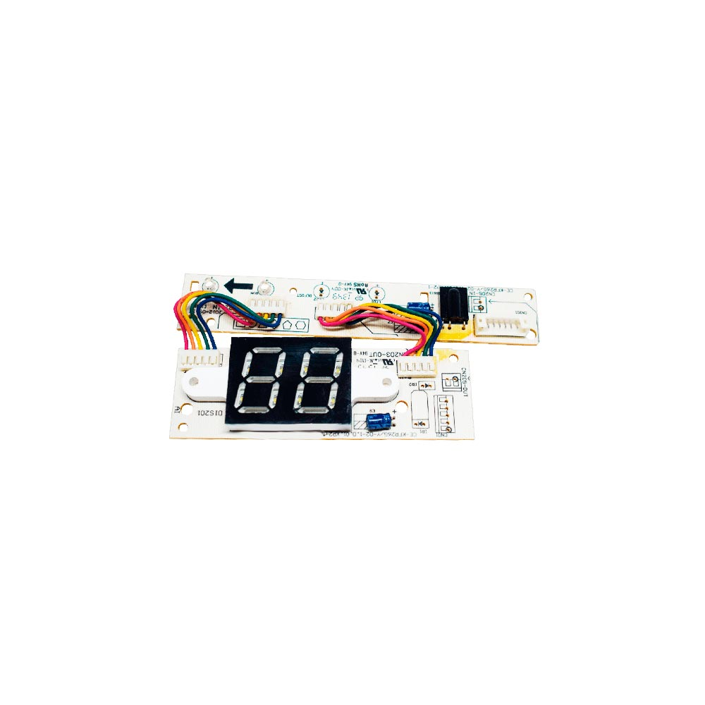 Placa Receptora Display Split 42MDC 09 12 18 22 24 M5 201332391359 - 2013323A164 Midea