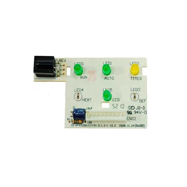 Placa Receptora Display Split 7000 9000 12000 Btus Só Frio Springer 2013324A0013
