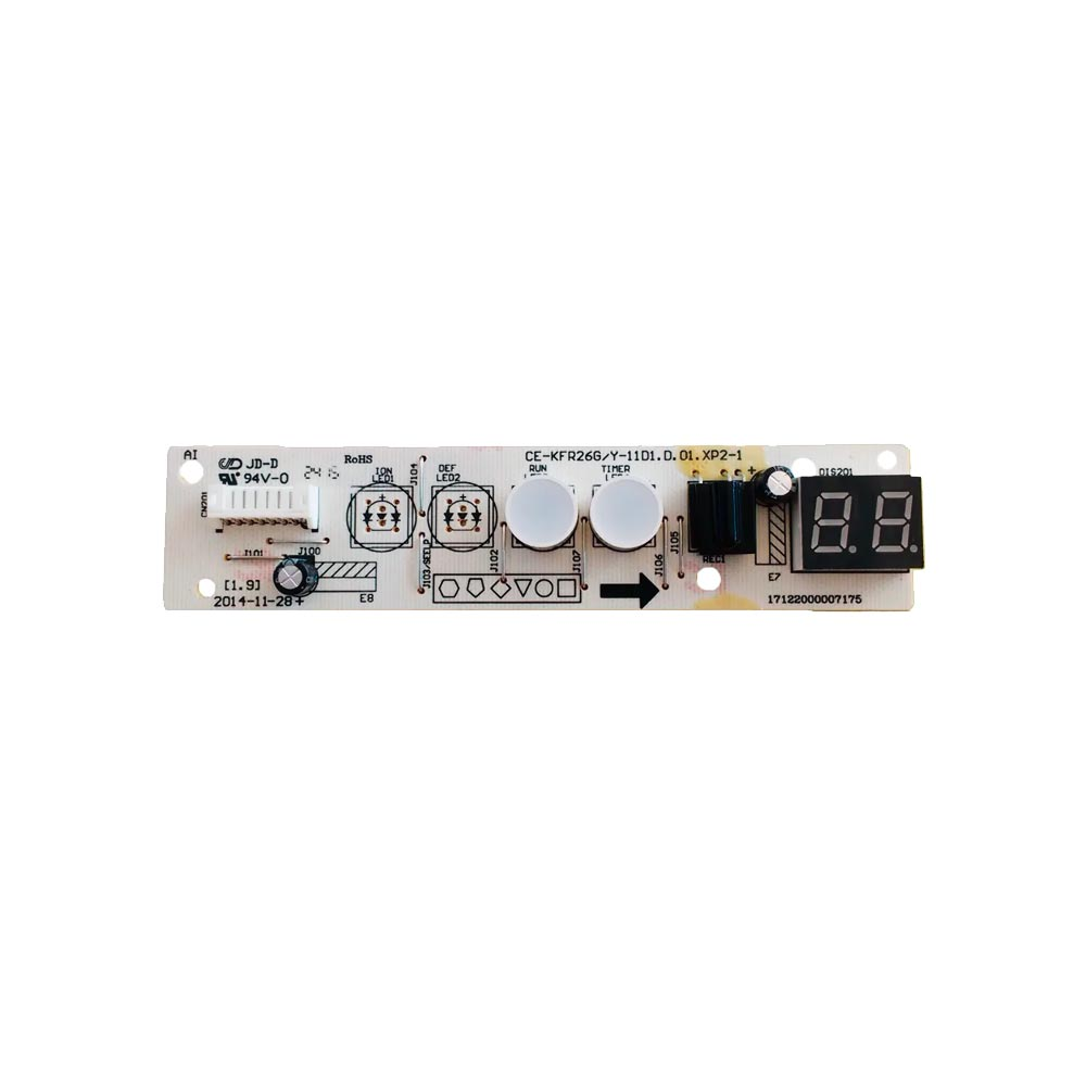 Placa Receptora Display Split 7000 Btus 42RSCA07S5 42RYCC07A5 Admiral 2013323A0915