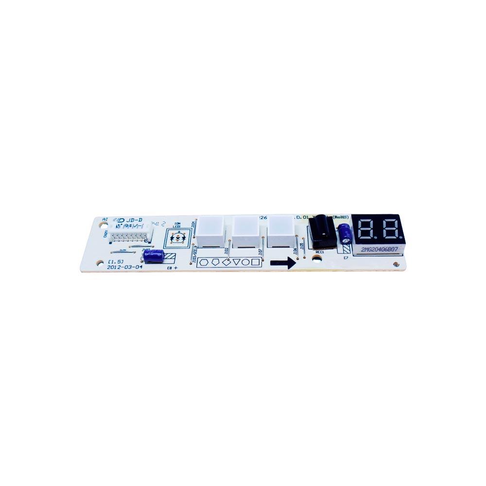 Placa Receptora Display Split 7k 7,5k Btus 2013323A0916 Comfee Admiral