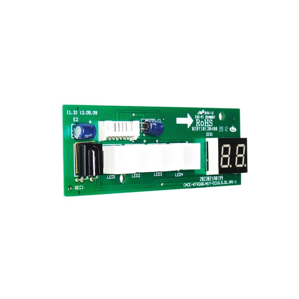 Placa Receptora Display Split 7k 9k 12k Btus 42LUQC 07C5 09C5 12C5 2013325A0422 Carrier