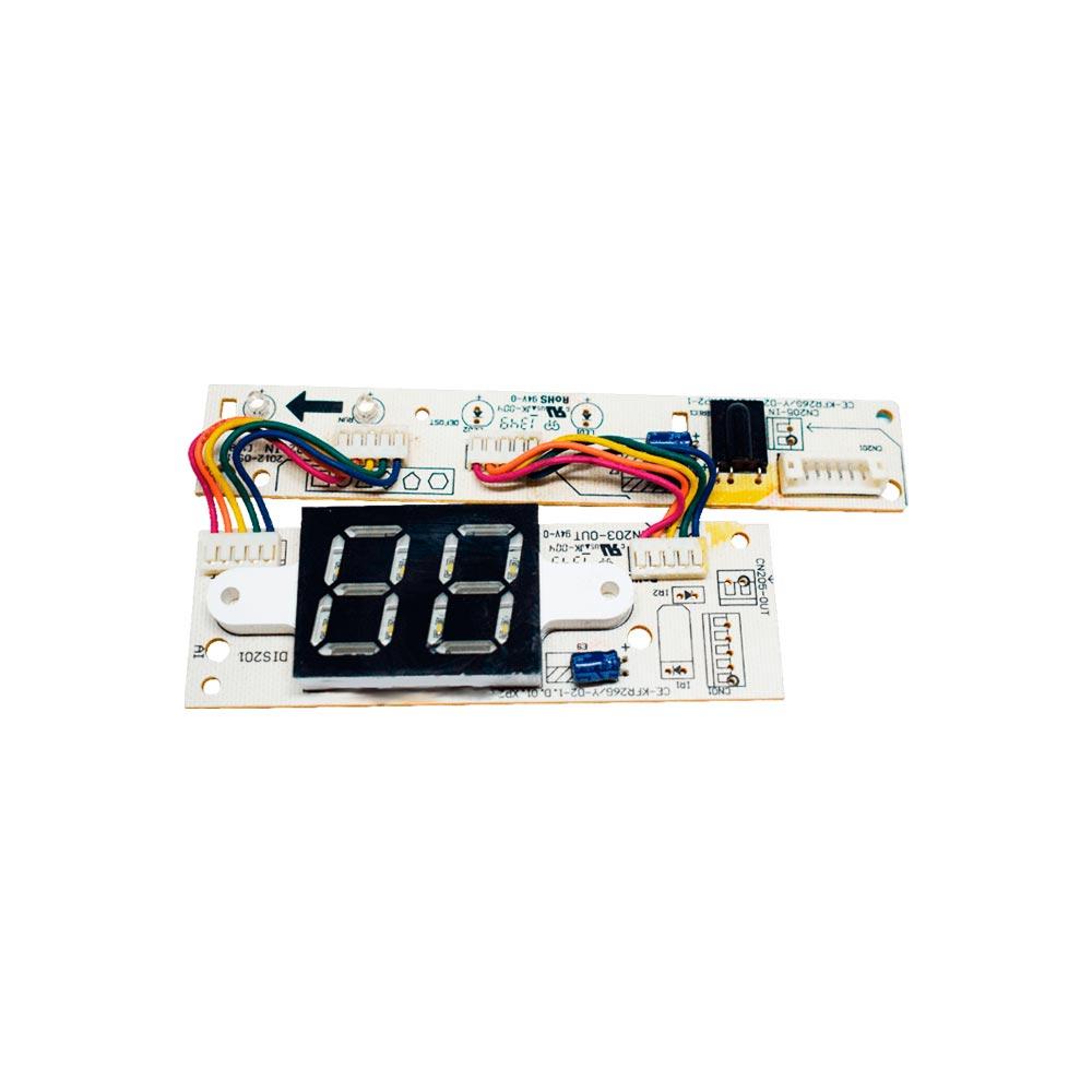Placa Receptora Display Split 9000 12000 18000 22000 Btus 17122000A02269 Carrier