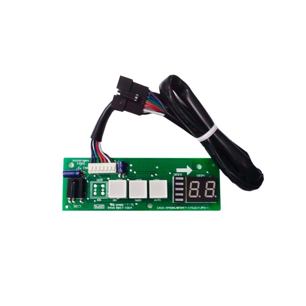 Placa Receptora Display Split 9K 12K Btus 42LVQC09C5 42LVQC12C5 Carrier 201332391191 - 2013323A0987