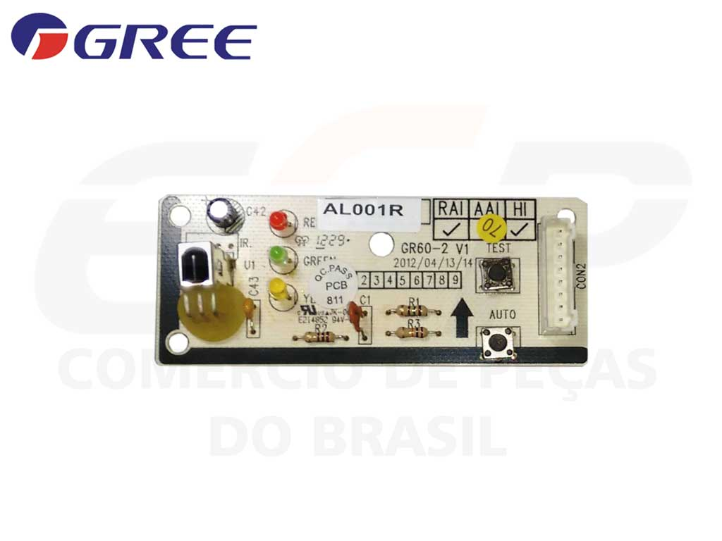 Placa Receptora GSK/GST 24/41/60 L/R