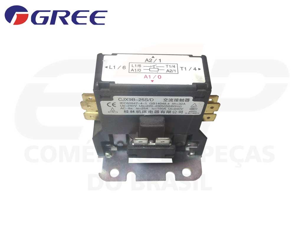 Contatora HCC-1NU01BB240C ( CJX9B-25S/D )