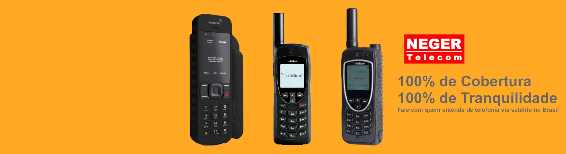 telefonia via satélite globalstar - neger telecom